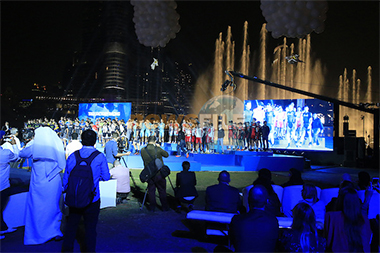 Dubai Cycling Tour | Opening Ceremony